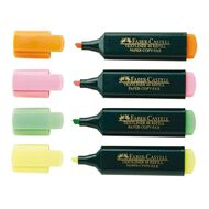 Faber-Castell Highlighters 4 Pack Multi-Coloured