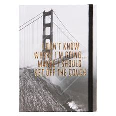 Banter Going Hardcover Notebook A6