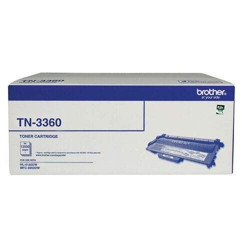 Brother Toner TN3360 Black (12000 Pages)