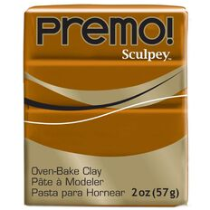 Sculpey Premo Accent Clay 57g Raw Sienna Brown