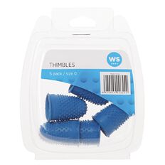 WS Thimbles Size 0 Each 5 Pack