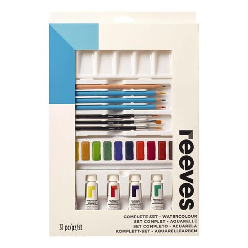 Reeves Watercolour Complete Set Yellow 75ml