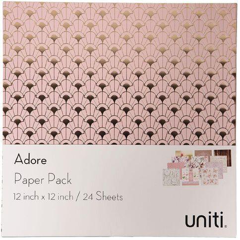 Uniti Adore Paper Pad 12in x 12in