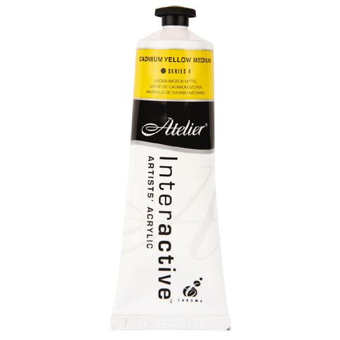 Atelier S4 Cadmium 80ml Medium Yellow