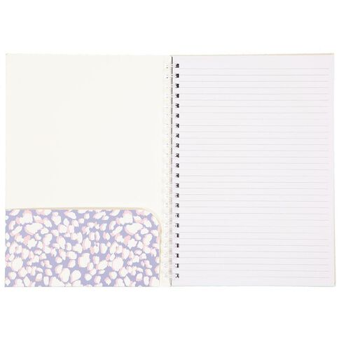 Uniti Creativity Takes Courage Spiral Softcover Notebook A4