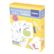 Wipe And Write Activity ABC Cards