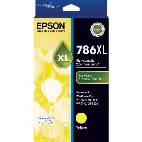 Epson Ink 786XL Yellow (2000 Pages)