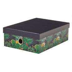 Disney Jungle Book Storage Box Navy A4