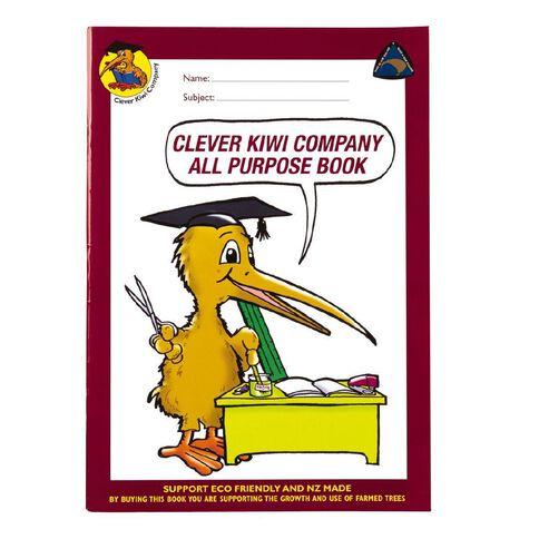 Clever Kiwi All Purpose Book