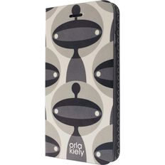 Orla Kiely iPhone 7 Case Martian Folio Case Clear