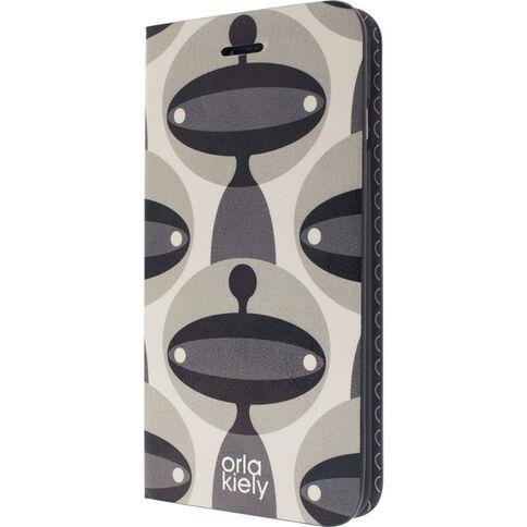 Orla Kiely iPhone 7 Case Martian Folio Case Clear