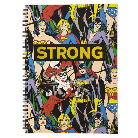 DC Women Softcover Notebook Strong A4