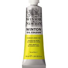 Winsor & Newton Winton Oil Paint 37ml Cadmium Lemon Yellow