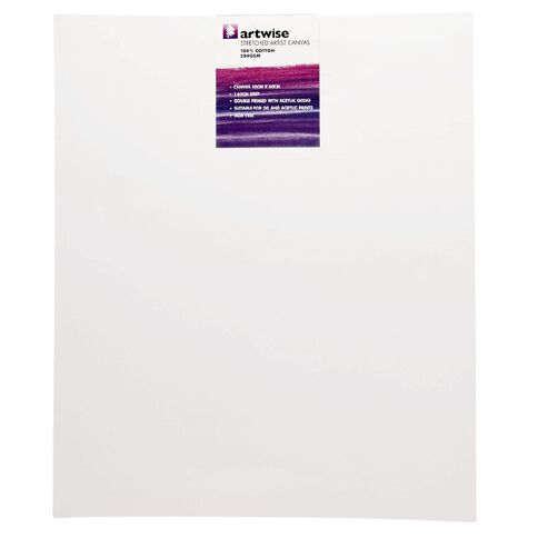 Uniti Blank Canvas 280gsm (20in x 24in) 50cm x 60cm