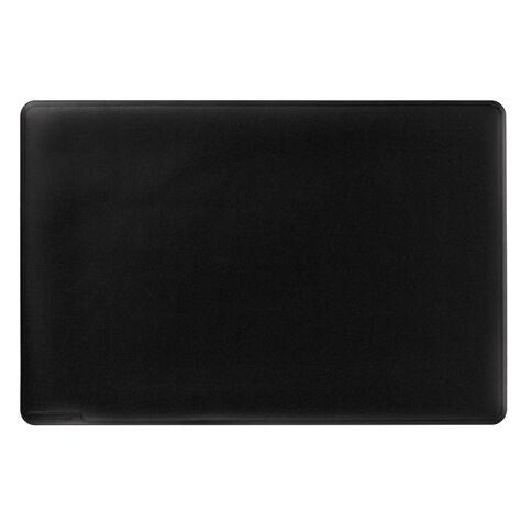 Durable Black Desk Mat 530mm x 400mm Black