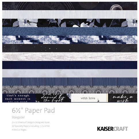 Kaisercraft Stargazer Paper Pad 6.5 inch