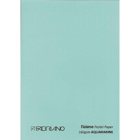 Fabriano Tiziano Pastel Paper 50cm x 65cm Aqua