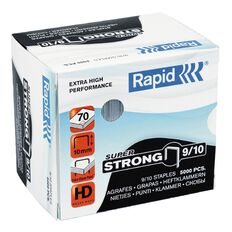 Rapid Staples 9/10 5000 Pack Silver