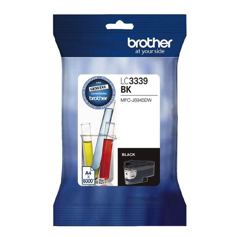 Brother Ink LC3339XLBK Black (6000 Pages)