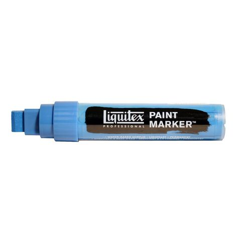 Liquitex Marker 15mm Fluro Blue