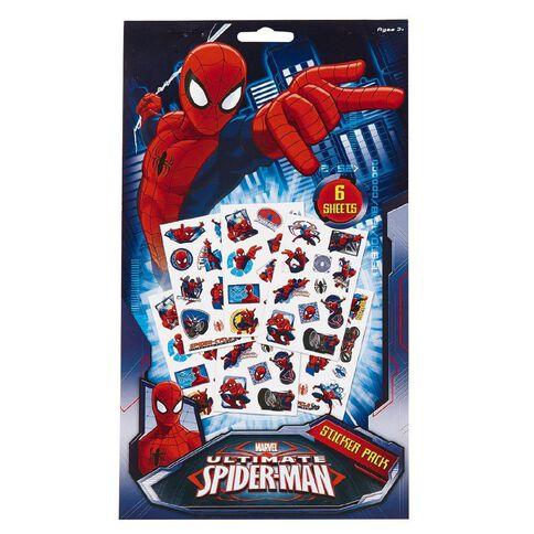 Spider-Man Sticker Book 6 Pages