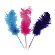 Novelty Feather Pen Assorted