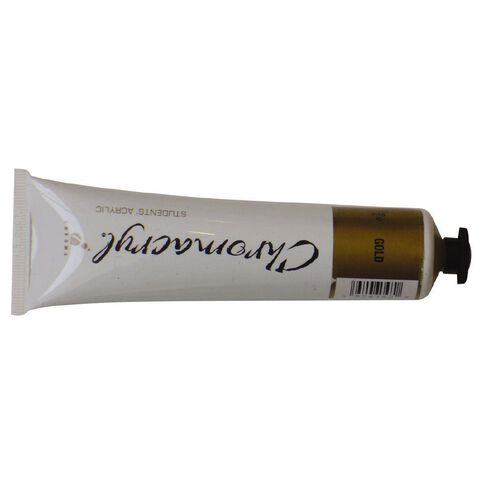 Chromacryl Paint 75ml Gold Gold