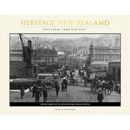 BrownTrout 2020 Heritage Of NZ Horizontal Wall Calendar