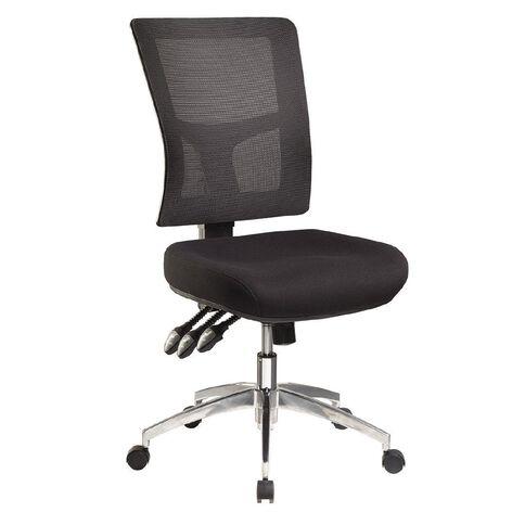 Jasper J Enduro Chair Charcoal with Alloy Base Charcoal