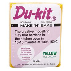 Du-kit Clay Yellow 50g