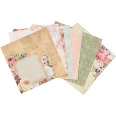 Uniti Mini Paper Stack Designer 6x6 24 Sheet Floral