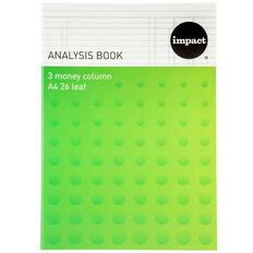 Impact Analysis Book 3 Column Green A4