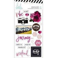 Heidi Swapp Hawthorne Stickers Cardstock 21 Pieces