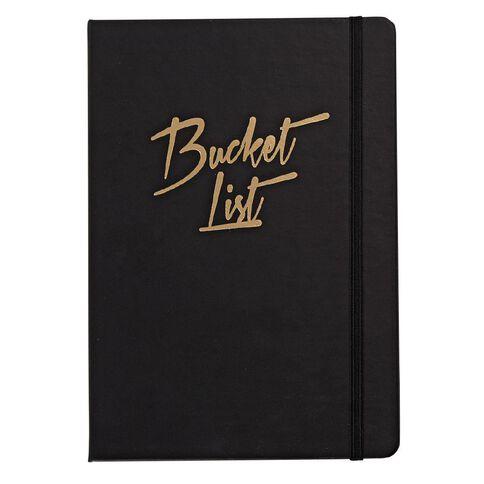 Impact Notebook Bucket Foil PU A5
