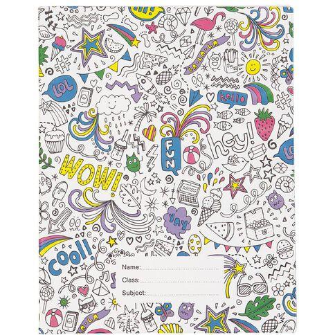 Kookie Book Sleeve Colour In Assorted 1B5