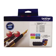 Brother Ink LC3317 Photo Value Pack (550 pages)