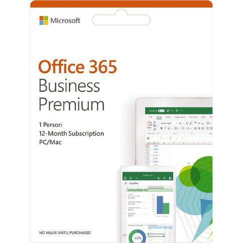 Microsoft Office 365 Business Premium Retail