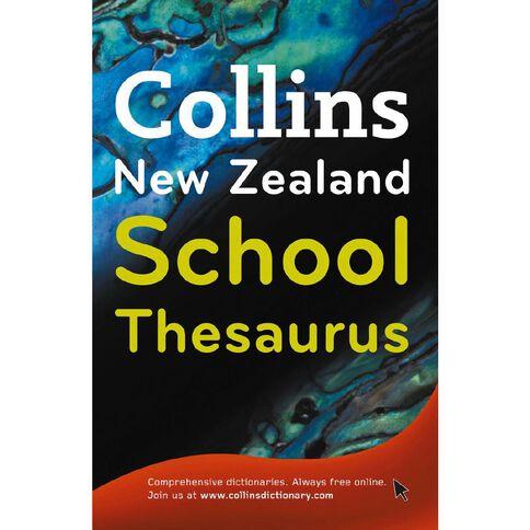 Collins New Zealand School Thesaurus Collins