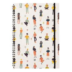 Uniti Empowerment People Softcover Notebook White A4