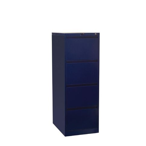 Workspace Filing Cabinet 4 Drawer Midnight Blue