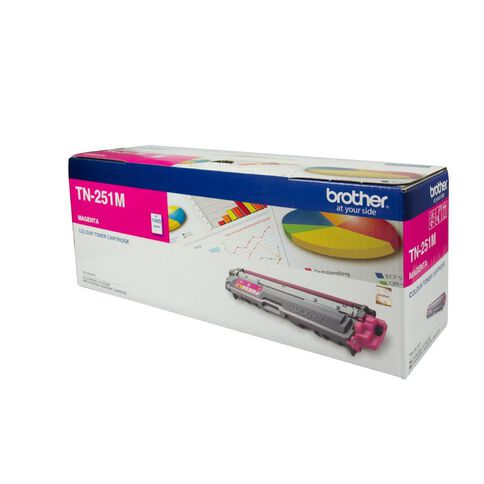 Brother Toner TN251 Magenta (1400 Pages)
