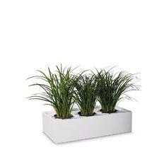 Precision Smartstore Planter White Satin