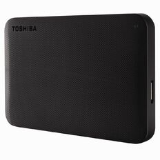 Toshiba 1TB Canvio Portable External Hard Drive Black