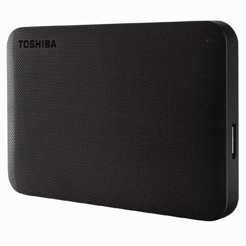 Toshiba 1TB Canvio Portable External Hard Drive Black