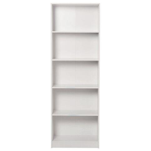 Living & Co Mason Bookcase 5 Tier White