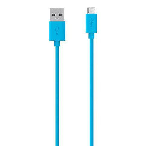 Belkin Mixitup Micro USB Charge/Sync Cable 1.2m Blue