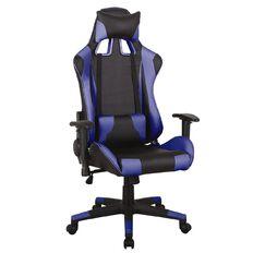 Workspace Gaming Chair Black/Blue