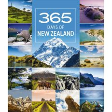 BrownTrout Calendar 2019 365 Days in New Zealand Deluxe