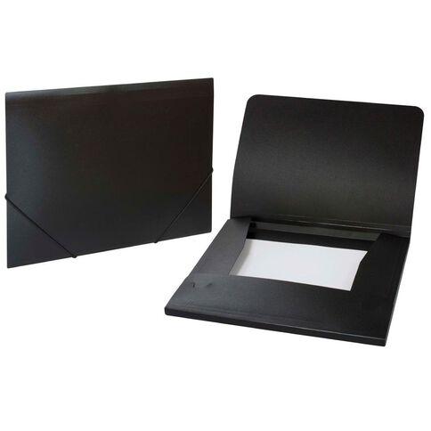 WS Wallet PP Elastic Black A4