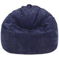 Living & Co Bean Bag Moon Chair Cover Corduroy Blue 200L
